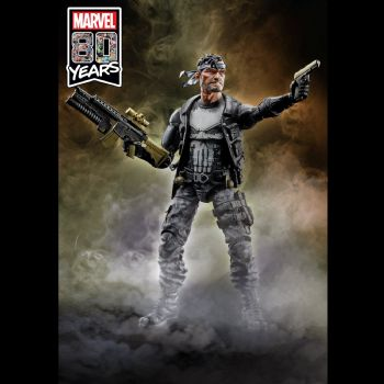 Marvel Legends 80th Anniversary Punisher Frank Castle Action Figure